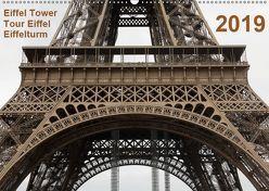 Eiffel Tower – Tour Eiffel – Eiffelturm – Paris 2019 (Wandkalender 2019 DIN A2 quer) von Studio Mark Chicoga,  Photo