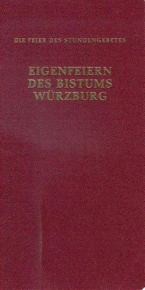 Eigenfeiern des Bistums Würzburg