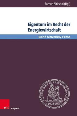 Eigentum im Recht der Energiewirtschaft von Shirvani,  Foroud