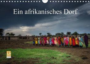 Ein afrikanisches DorfCH-Version (Wandkalender 2018 DIN A4 quer) von Gaymard,  Alain