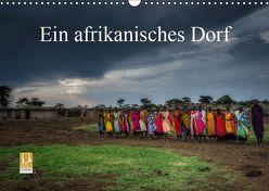 Ein afrikanisches DorfCH-Version (Wandkalender 2019 DIN A3 quer) von Gaymard,  Alain