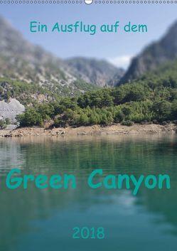 Ein Ausflug auf dem Green Canyon (Wandkalender 2018 DIN A2 hoch) von r.gue.,  k.A.
