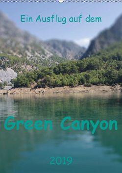 Ein Ausflug auf dem Green Canyon (Wandkalender 2019 DIN A2 hoch) von r.gue.