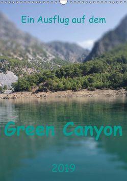 Ein Ausflug auf dem Green Canyon (Wandkalender 2019 DIN A3 hoch) von r.gue.