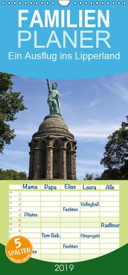 Ein Ausflug ins Lipperland – Familienplaner hoch (Wandkalender 2019 , 21 cm x 45 cm, hoch) von Lindert-Rottke,  Antje