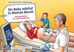 Ein Baby wächst in Mamas Bauch. Kamishibai Bildkartenset. von Hauenschild,  Lydia, Penava,  Mile