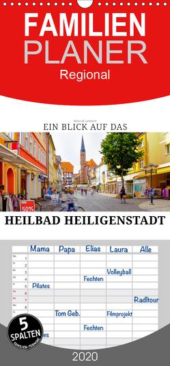 Ein Blick auf das Heilbad Heiligenstadt – Familienplaner hoch (Wandkalender 2020 , 21 cm x 45 cm, hoch) von W. Lambrecht,  Markus