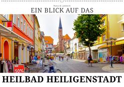 Ein Blick auf das Heilbad Heiligenstadt (Wandkalender 2019 DIN A2 quer) von W. Lambrecht,  Markus