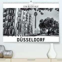 Ein Blick auf Düsseldorf (Premium, hochwertiger DIN A2 Wandkalender 2020, Kunstdruck in Hochglanz) von W. Lambrecht,  Markus