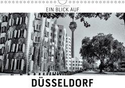 Ein Blick auf Düsseldorf (Wandkalender 2019 DIN A4 quer) von W. Lambrecht,  Markus