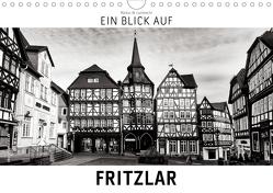 Ein Blick auf Fritzlar (Wandkalender 2020 DIN A4 quer) von W. Lambrecht,  Markus