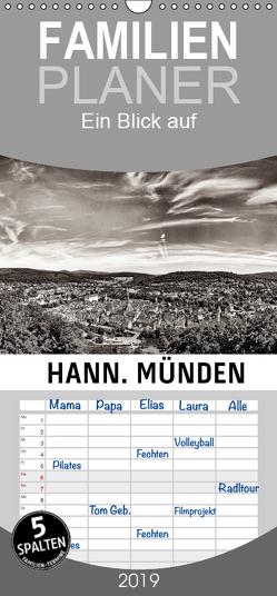 Ein Blick auf Hann. Münden – Familienplaner hoch (Wandkalender 2019 , 21 cm x 45 cm, hoch) von W. Lambrecht,  Markus