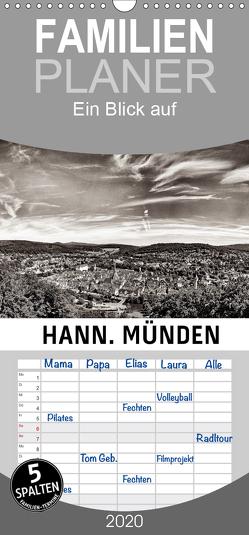 Ein Blick auf Hann. Münden – Familienplaner hoch (Wandkalender 2020 , 21 cm x 45 cm, hoch) von W. Lambrecht,  Markus