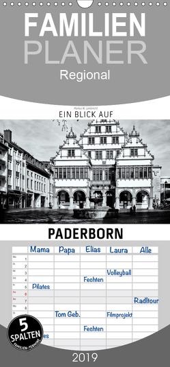 Ein Blick auf Paderborn – Familienplaner hoch (Wandkalender 2019 , 21 cm x 45 cm, hoch) von W. Lambrecht,  Markus