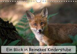 Ein Blick in Reinekes Kinderstube (Wandkalender 2019 DIN A4 quer) von Fuchs,  Mirko