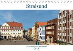 Ein Bummel durch die Hansestadt Stralsund (Tischkalender 2018 DIN A5 quer) von Pompsch,  Heinz