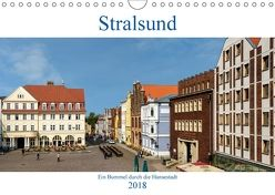Ein Bummel durch die Hansestadt Stralsund (Wandkalender 2018 DIN A4 quer) von Pompsch,  Heinz