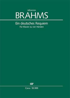 Ein deutsches Requiem (Klavierauszug) von Brahms,  Johannes
