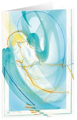 Ein Engel für dich – Kunst-Faltkarten ohne Text (5 Stück) * von Münch,  Eberhard