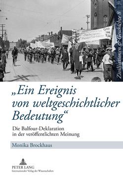 «Ein Ereignis von weltgeschichtlicher Bedeutung» von Brockhaus,  Monika