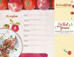 Ein Fest im Grünen – Menüplaner & Einkaufsliste von Gleeson,  Erin