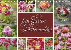 Ein Garten, der zum Verweilen einlädt (Tischkalender 2018 DIN A5 quer) von Kuhr,  Susann