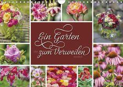 Ein Garten, der zum Verweilen einlädt (Wandkalender 2018 DIN A4 quer) von Kuhr,  Susann
