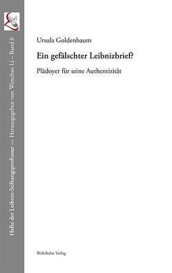 Ein gefälschter Leibnizbrief? von Goldenbaum,  Ursula