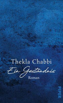 Ein Geständnis von Chabbi,  Thekla