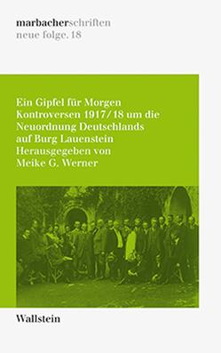 Ein Gipfel für Morgen von Werner,  Meike G