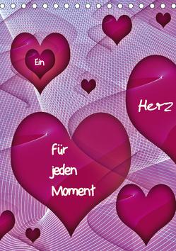 Ein Herz für jeden Moment (Tischkalender 2019 DIN A5 hoch) von Burlager,  Claudia