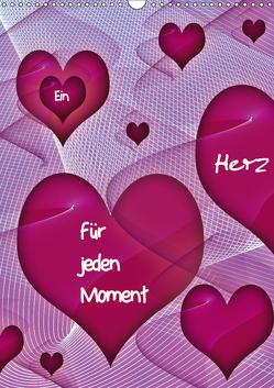 Ein Herz für jeden Moment (Wandkalender 2019 DIN A3 hoch) von Burlager,  Claudia