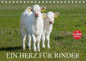 Ein Herz für Rinder (Tischkalender 2018 DIN A5 quer) von Starick,  Sigrid