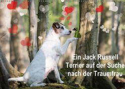 Ein Jack Russell Terrier auf der Suche nach der Traumfrau (Wandkalender 2018 DIN A2 quer) von S. + J. Schröder,  AWS, Schroeder,  Susanne, Werbeagentur,  k.A.