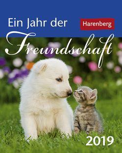Ein Jahr der Freundschaft – Kalender 2019 von Harenberg