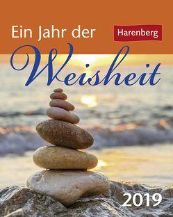 Ein Jahr der Weisheit – Kalender 2019 von Harenberg, Sonnleitner,  Cornelia