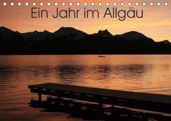 Ein Jahr im Allgäu (Tischkalender 2019 DIN A5 quer) von Kreutzer-Eichhorn,  Anne