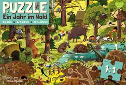 Ein Jahr im Wald – Puzzle von Dziubak,  Emilia