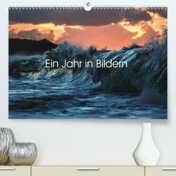 Ein Jahr in 12 Bildern (Premium, hochwertiger DIN A2 Wandkalender 2021, Kunstdruck in Hochglanz) von Claude Castor I 030mm-photography,  Jean