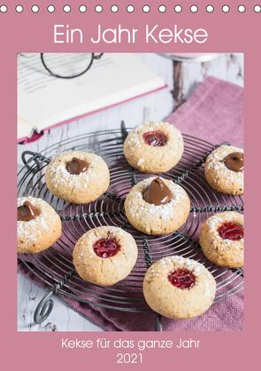 Ein Jahr Kekse (Tischkalender 2021 DIN A5 hoch) von Meine,  Astrid