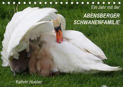 Ein Jahr mit der Abensberger Schwanenfamilie (Tischkalender 2019 DIN A5 quer) von Hueber,  Kathrin