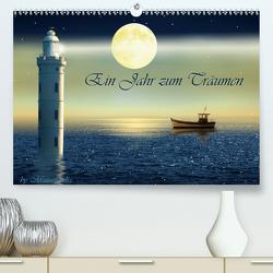 Ein Jahr zum Träumen by Mausopardia (Premium, hochwertiger DIN A2 Wandkalender 2021, Kunstdruck in Hochglanz) von Jüngling alias Mausopardia,  Monika