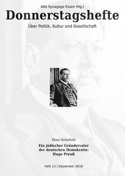 Ein jüdischer Gründervater der deutschen Demokratie von Schefold,  Dian