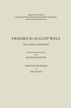 Ein Leben in Briefen von Reiter,  Siegfried