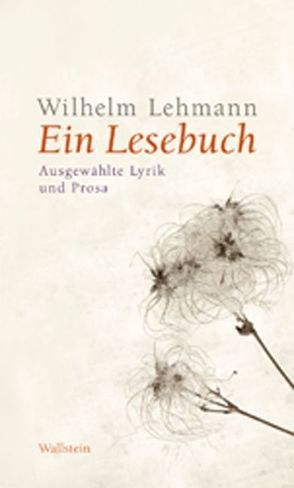 Ein Lesebuch von Detering,  Heinrich, Johannsen,  Jutta, Lehmann,  Wilhelm, Pörksen,  Uwe