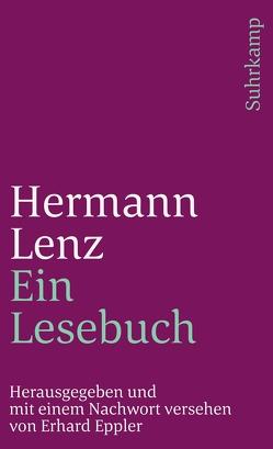 Ein Lesebuch von Eppler,  Erhard, Lenz,  Hermann