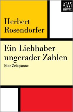 Ein Liebhaber ungerader Zahlen von Rosendorfer,  Herbert