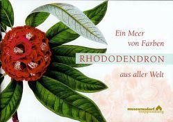 Ein Meer von Farben – Rhododendron aus aller Welt von Ziessow,  Karl-Heinz