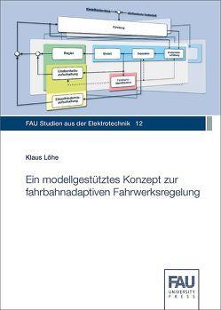 Ein modellgestütztes Konzept zur fahrbahnadaptiven Fahrwerksregelung von Löhe,  Klaus