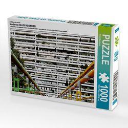 Ein Motiv aus dem Kalender Moderne HAUSFASSADEN 1000 Teile Puzzle quer von Wachholz,  Peter